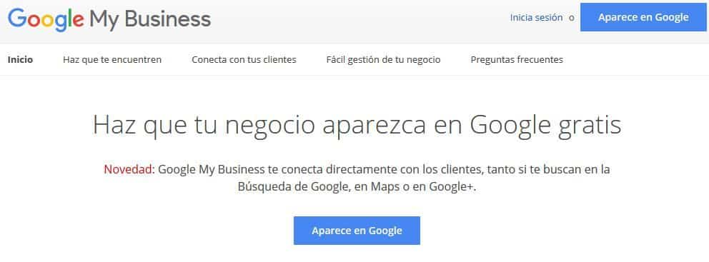 portada google my business