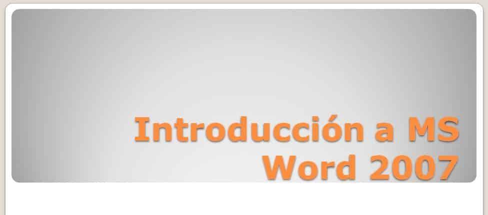 Curso MS Word 2007