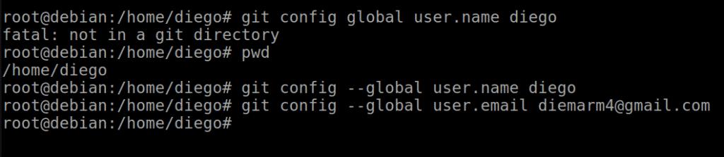 Configuración de Git