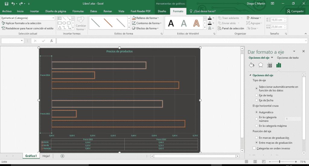 Aplicar formato a gráficos en Excel 01