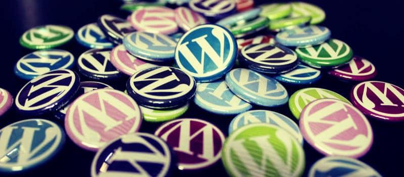 Chapas de WordPress de colores